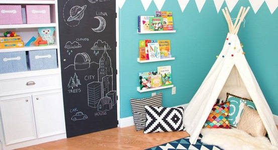 Ideas for creating reading corner for your child