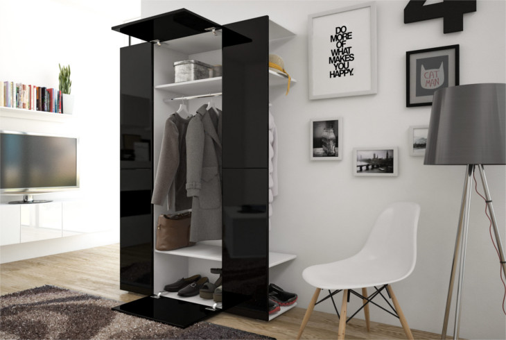Black Hallway Furniture beautiful black hallway furniture tree rack mirror storage toy box
