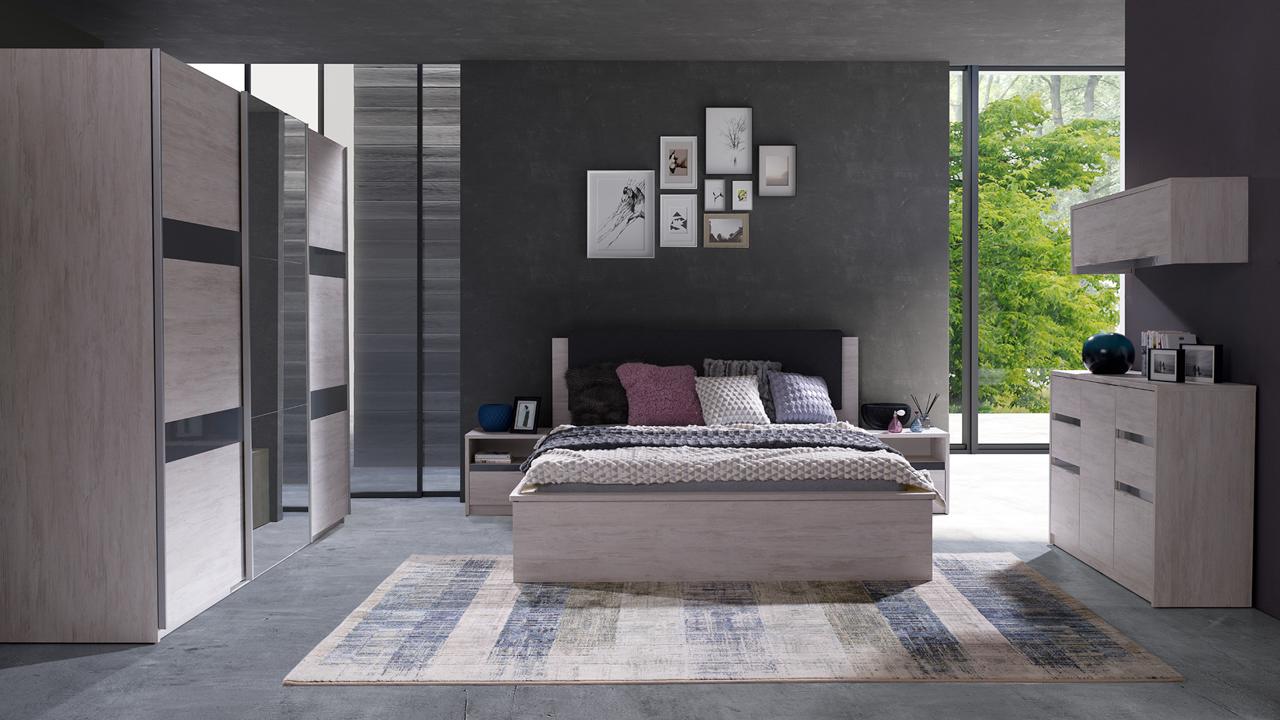 Bedroom Furniture DENVER 13 - MEBLINE-FURNITURE.CO.UK