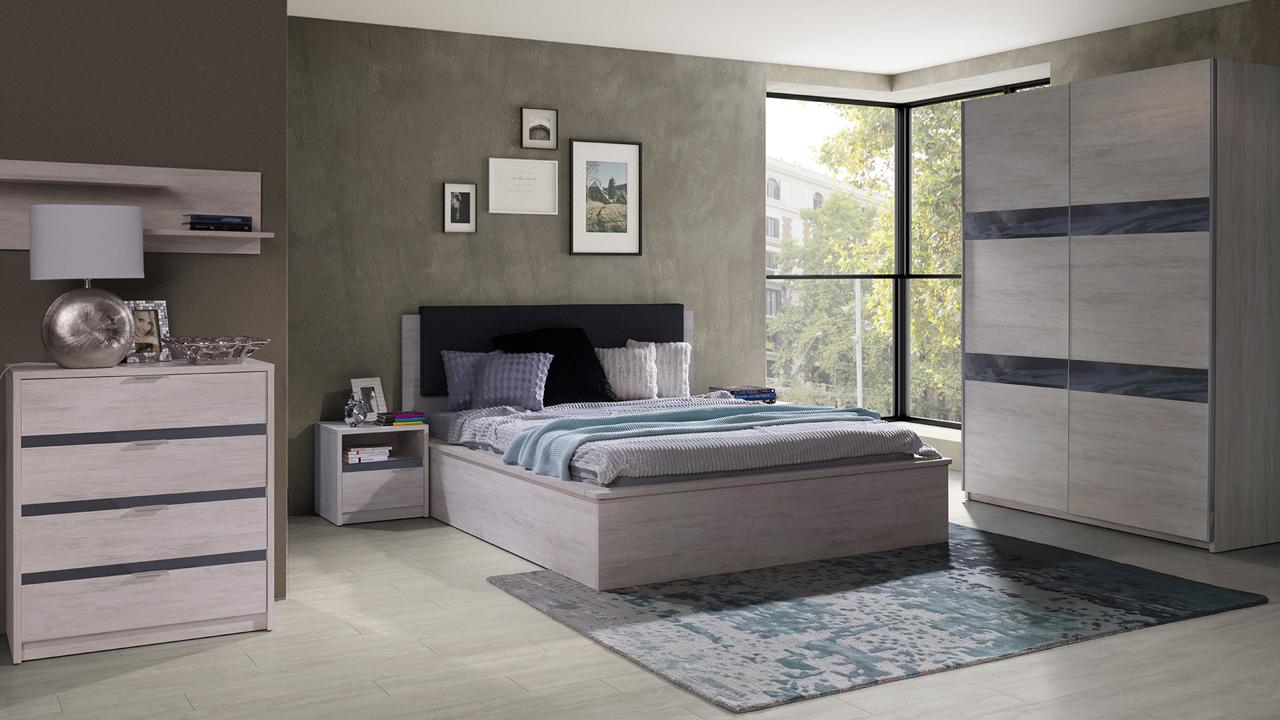 Bedroom Furniture DENVER 14 - MEBLINE-FURNITURE.CO.UK