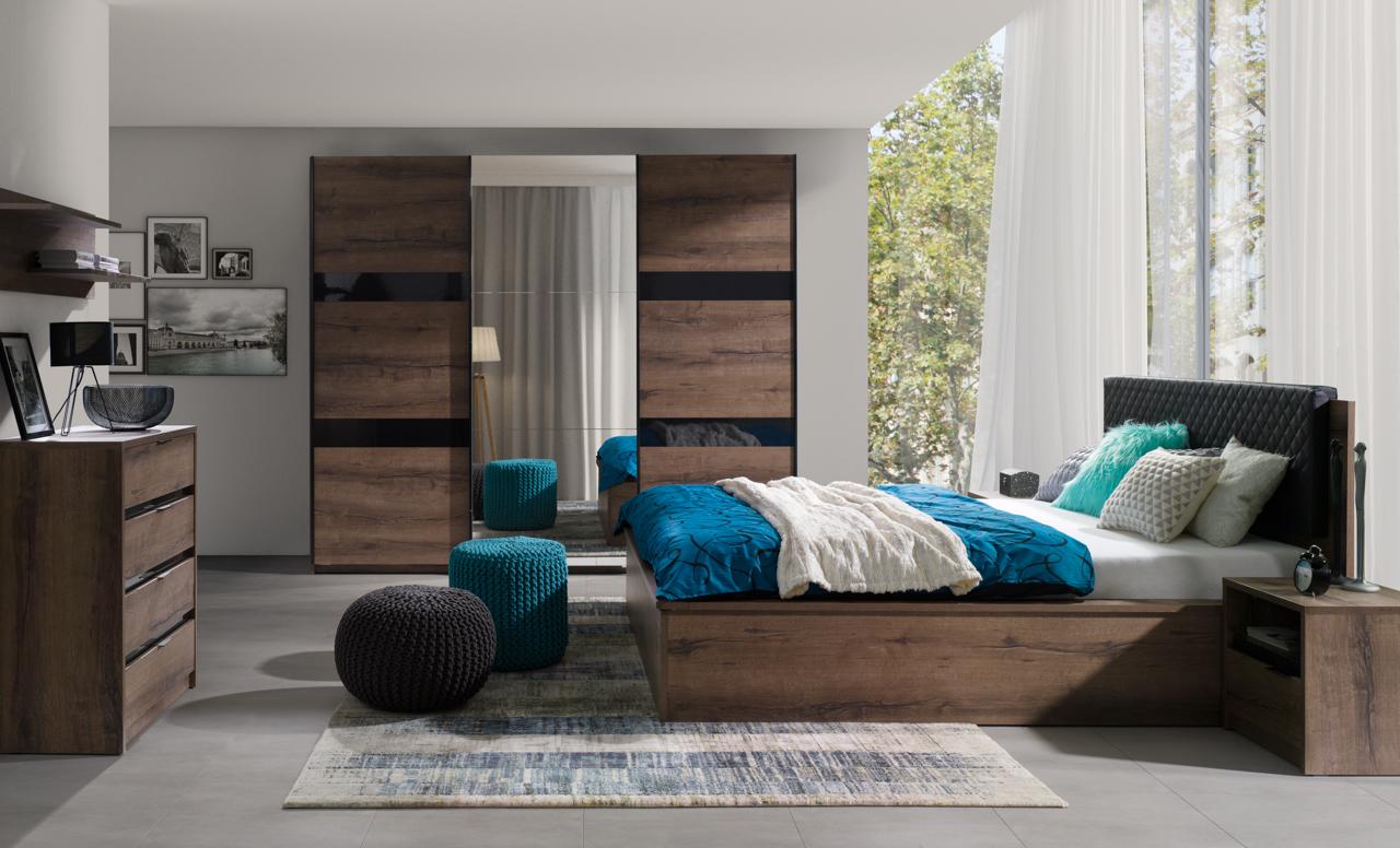 Bedroom Furniture DENVER 5 - MEBLINE-FURNITURE.CO.UK
