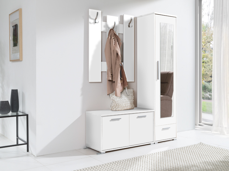 Hallway Furniture HITO White