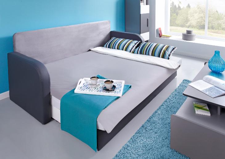 Modern Sofa Bed LIDO Green