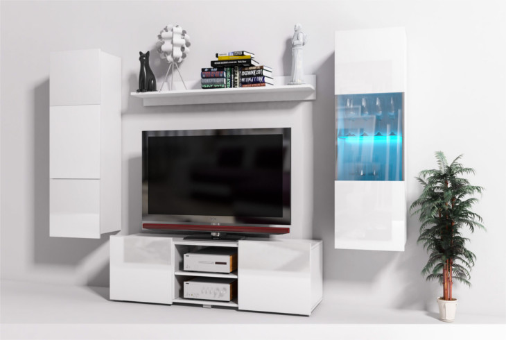 Modern living room furniture onyx 20b gloss mebline for Front room furniture sale
