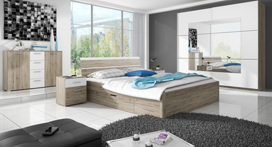 A small bedroom without a window - inspirations
