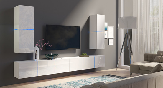 Wall unit or system furniture?