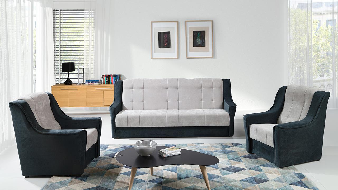 Incredible Sofa Set 3 1 1 Niagara Dark Ibiza Furnitop Co Uk Theyellowbook Wood Chair Design Ideas Theyellowbookinfo